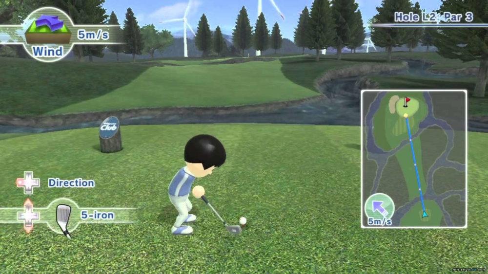Golf Nintendo Wii