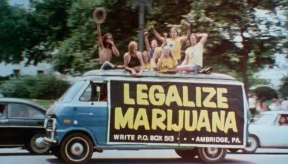Legalize marijuana van