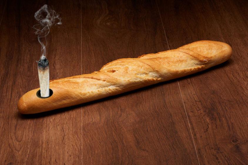 Baguette pipe
