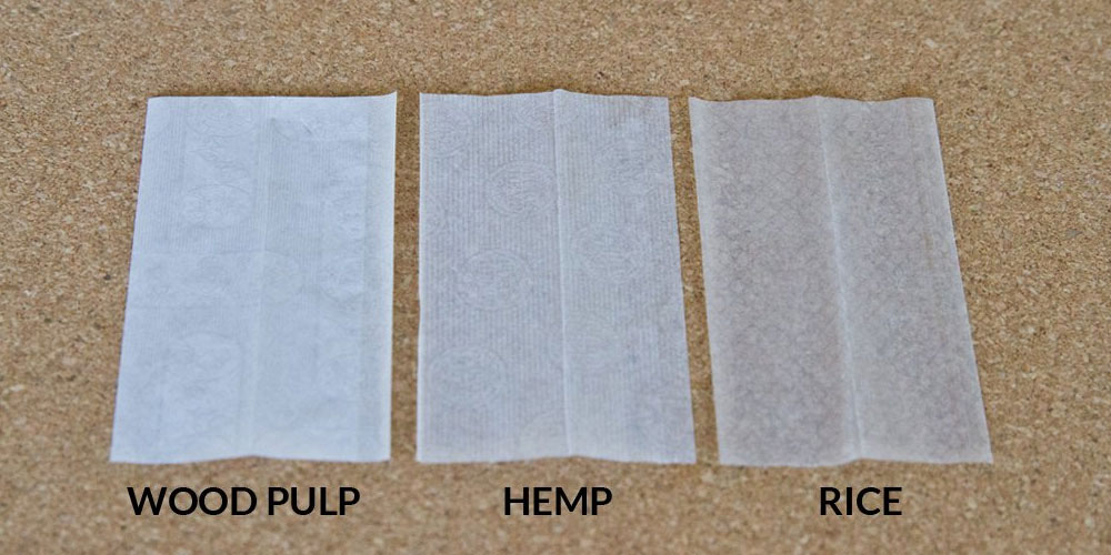 Rolling papers comparison
