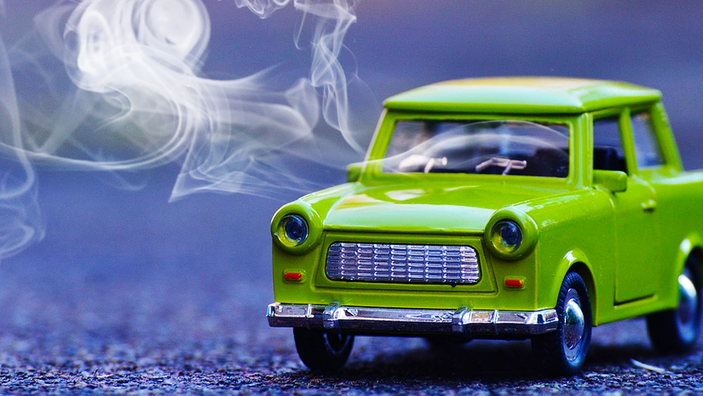 smoking in cars