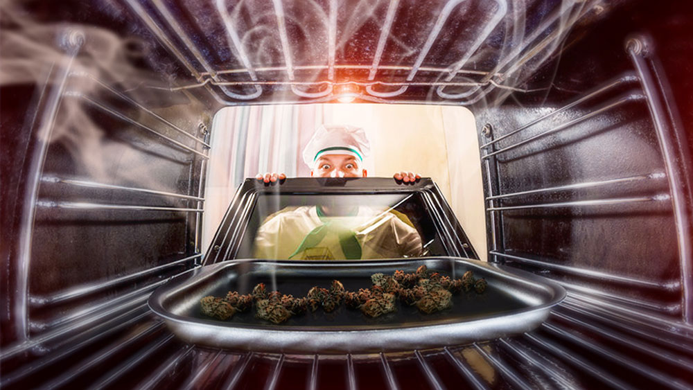 Baking cannabis