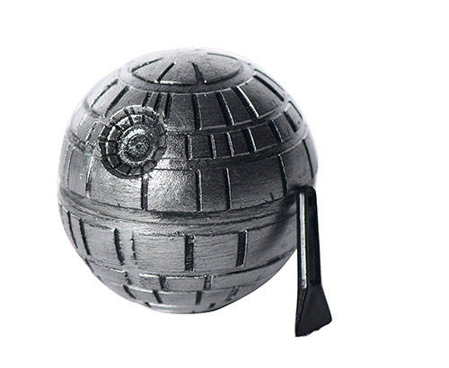 Death star 3 piece herb grinder
