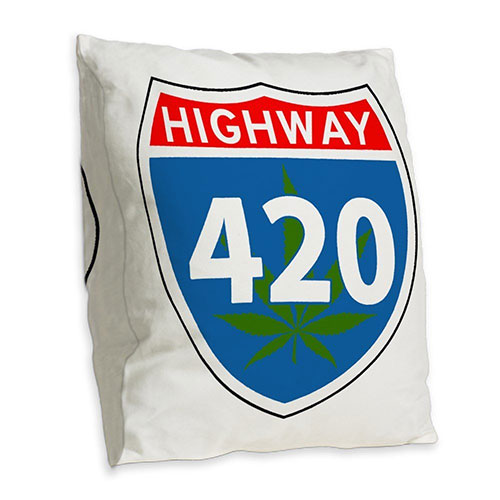Marijuana highway pillow