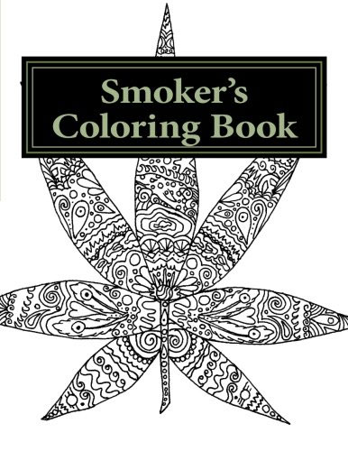 Smokers coloring book