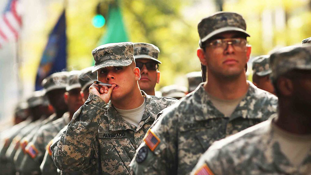 The US Army is now forgiving past marijuana use to new recruits