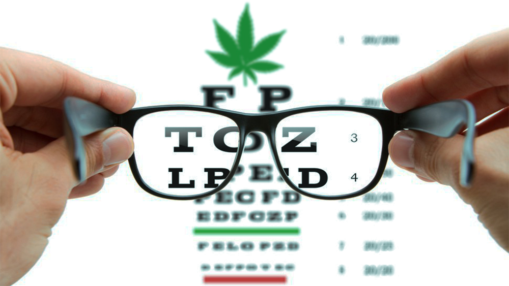 weed eyesight test