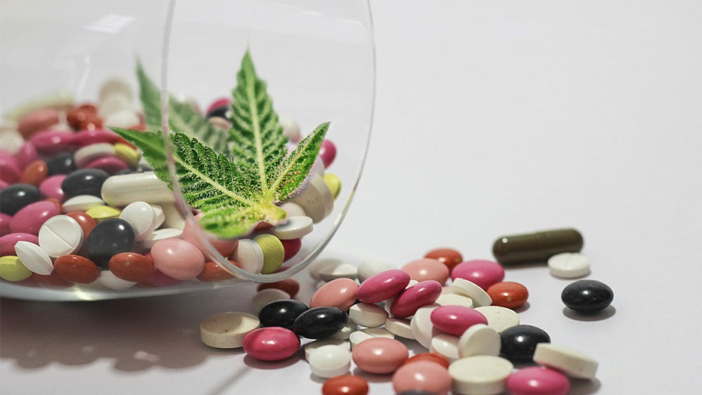 Weed and pills