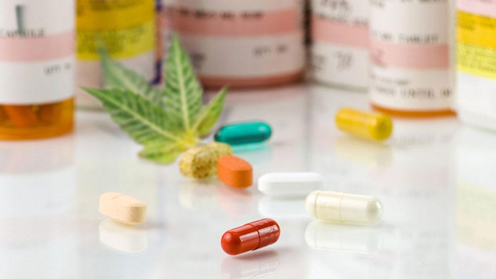 Marijuana and antidepressants