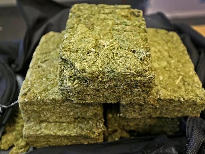 Weed bricks