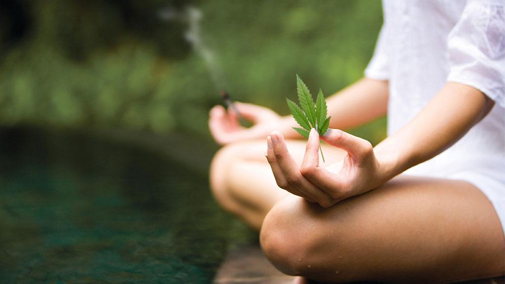 Weed meditation