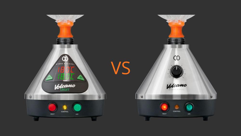 Volcano Digit VS Volcano Classic