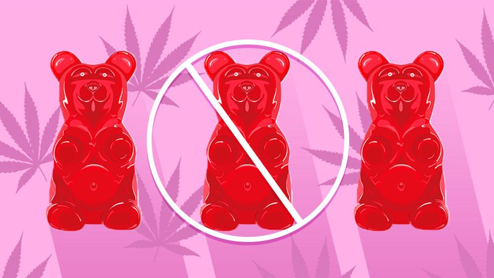 weed gummy bears