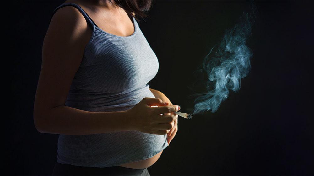 smoking cannabis while pregnant