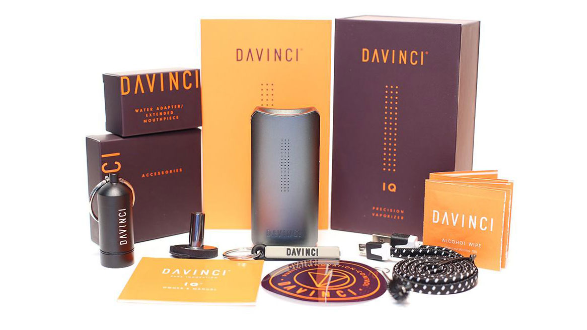 da vinci iq box contents