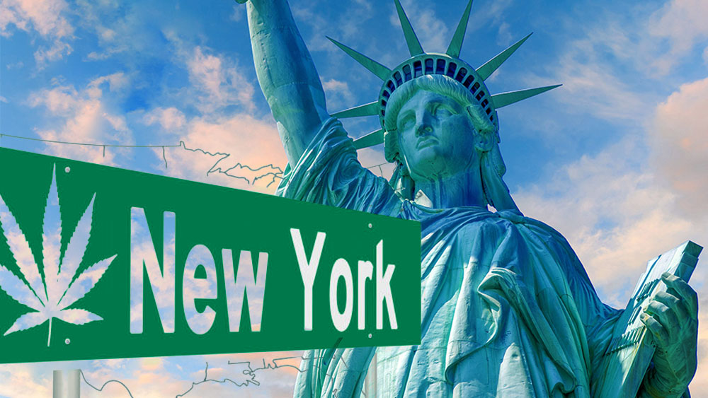 new york legalizing marijuana