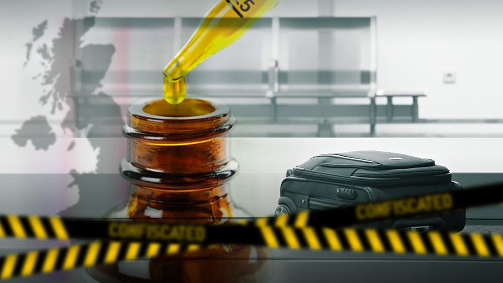cannabis oil UK seized