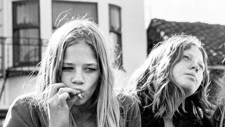 Girls smoking weed