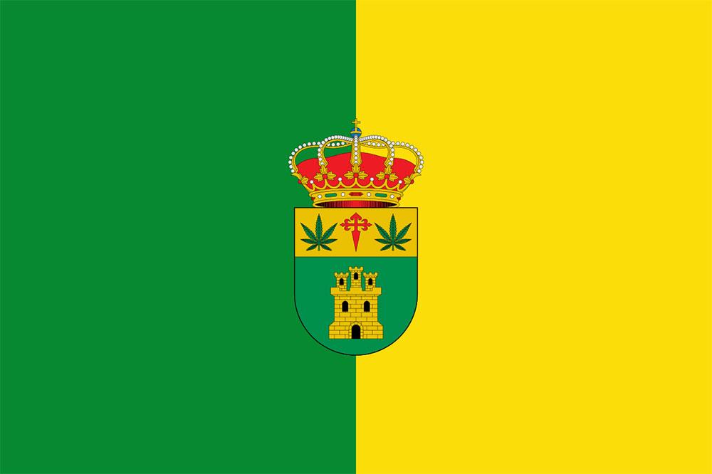 Santa Cruz de los Cáñamos flag