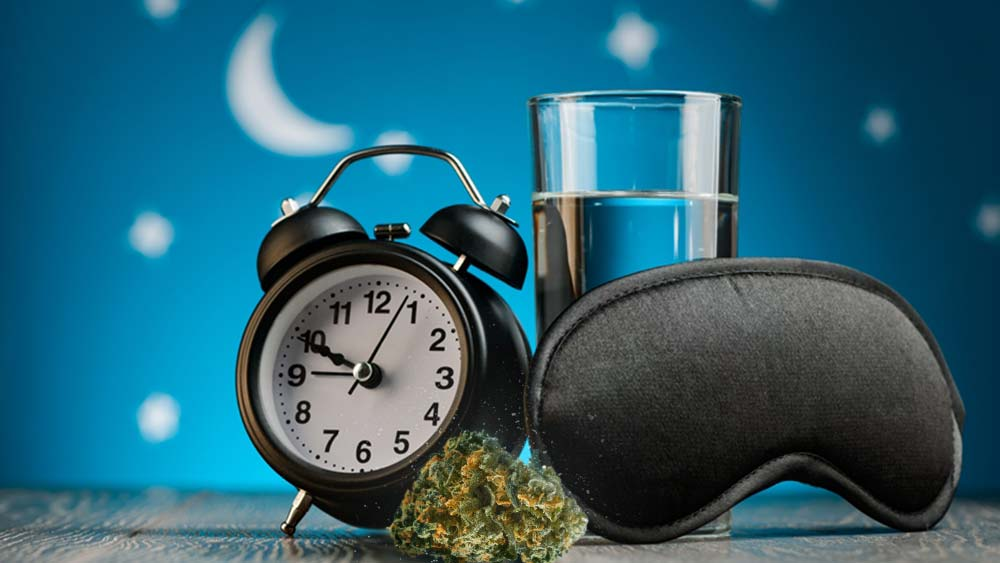 Weed before bed