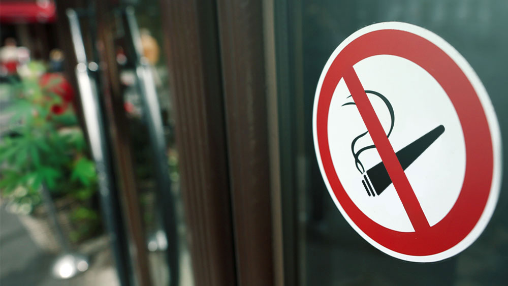 pot smoking ban