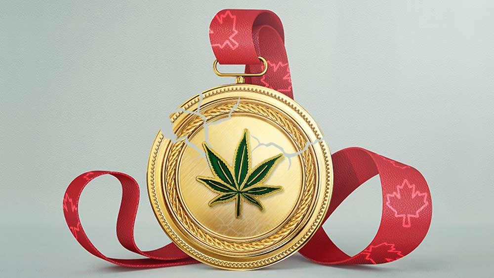 Cannabis medal