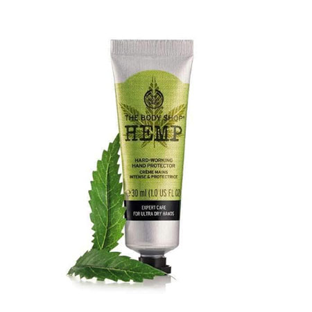 The body shop hand creme