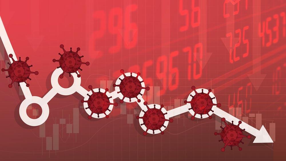 Corona-Stocks-Dropping