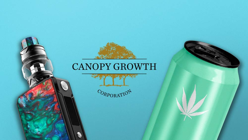 Canopy Growth is launching new CBD products and predicting global cannabis market to increase.