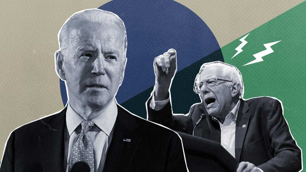Biden vs. Sanders over federal cannabis legalization