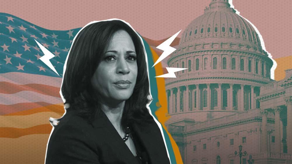 Kamala Harris and White House